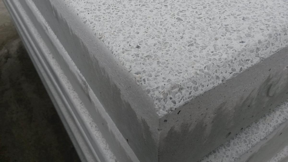 Terrazzo Gravel Tiles Natural Stone Top Layer Simbeton Be